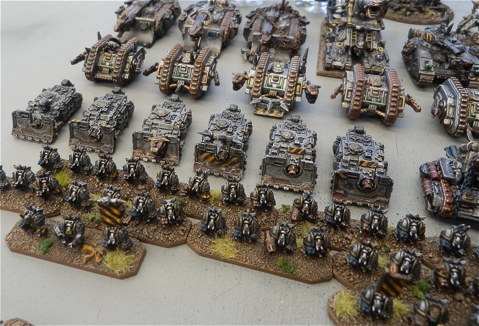 WargamerAU Forums > [Epic] Chaos Titan Legion and my Iron Warriors