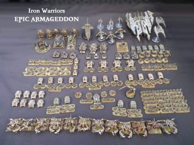 Epic Armageddon Iron Warriors army pic
