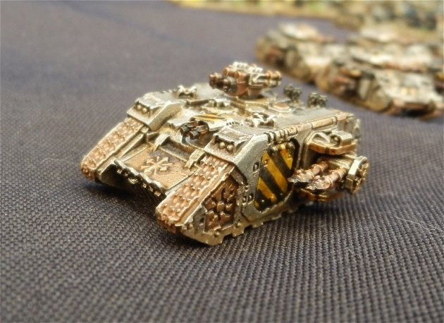 Epic Armageddon Iron Warriors Land Raider a