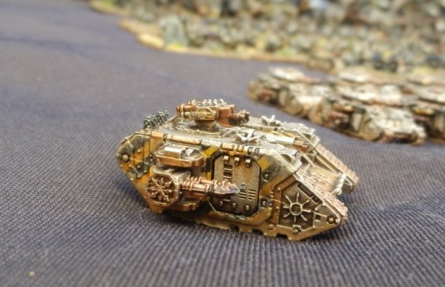 Epic Armageddon Iron Warriors Land Raider