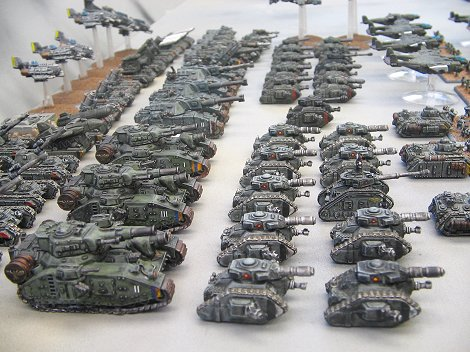 Imperial Guard tanks