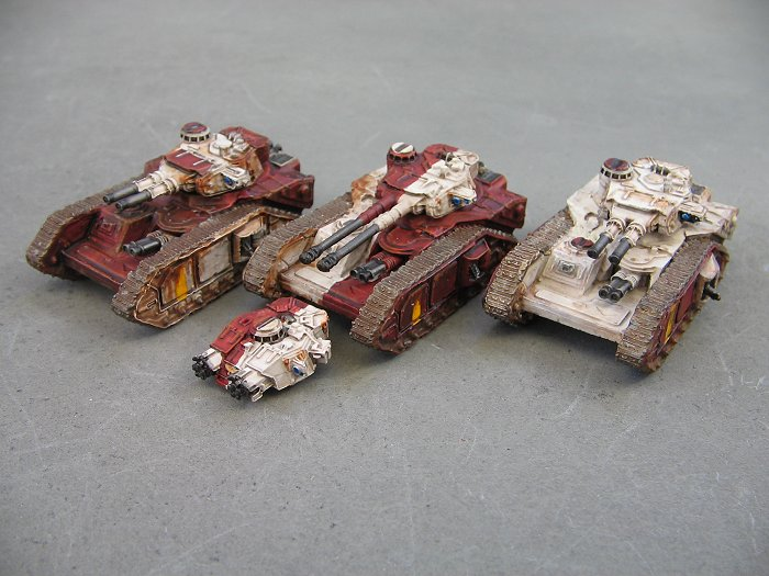 Painting Epic Super Heavy Tank proxies + a few more tanks