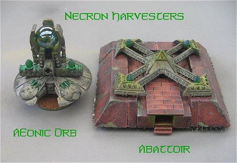 Necrones Epic-os Necron-harvesters