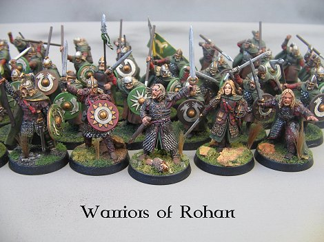 Lotr Wood Elves Painting Guide