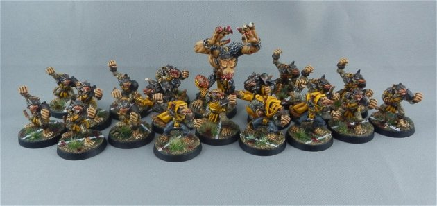 Skaven Blood Bowl team 2