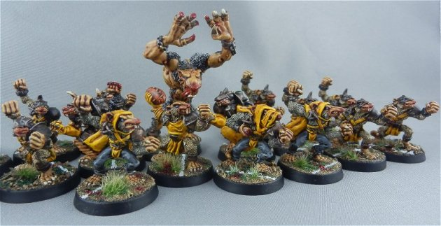 Skaven Blood Bowl team 3