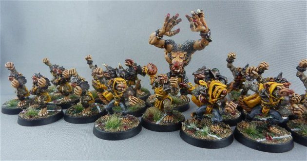 Skaven Blood Bowl team 4