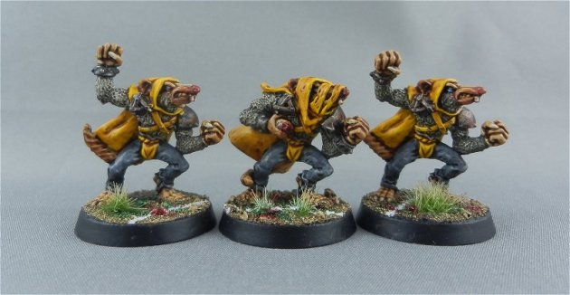 Skaven Blood Bowl team 5