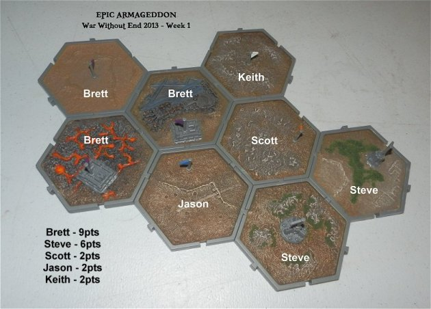 Week 1 campaign map