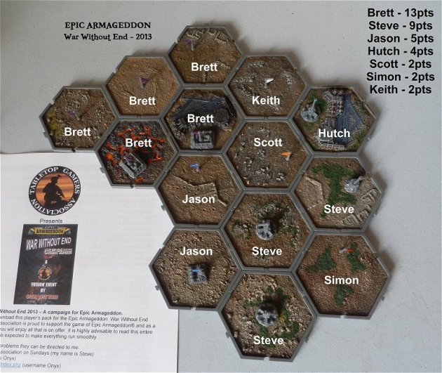 Week 2 campaign map