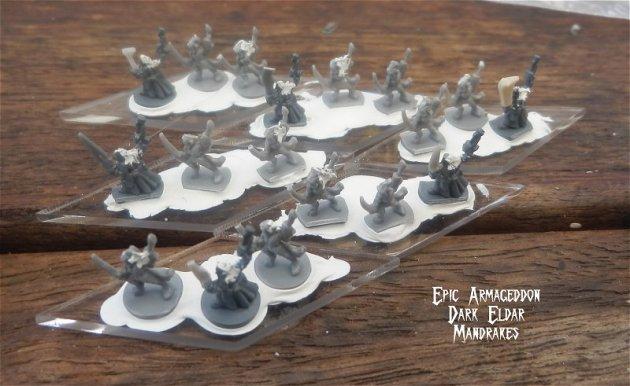 Dark Eldar - Epic Armageddon Mandrakes