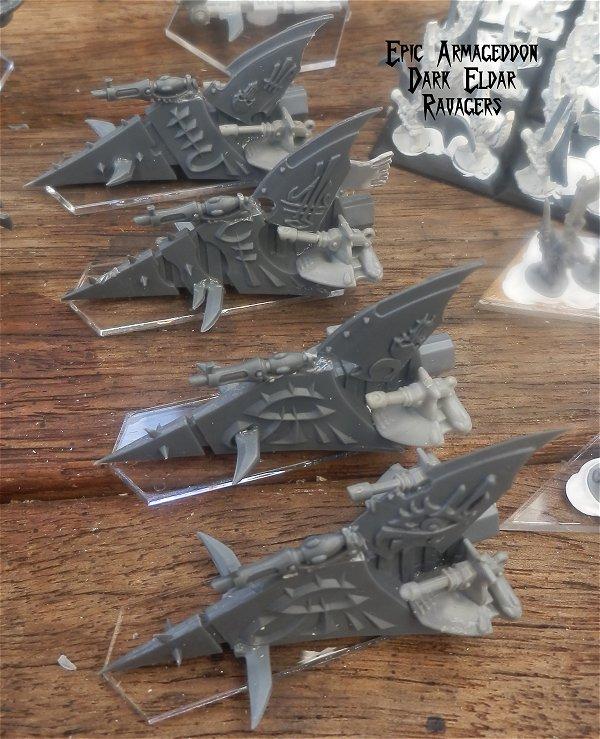 Dark Eldar - Epic Armageddon Ravagers