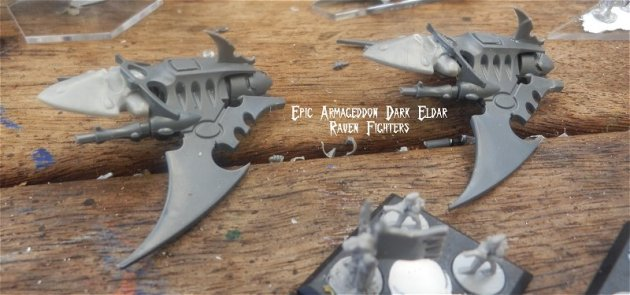 Dark Eldar - Epic Armageddon Raven Fighters