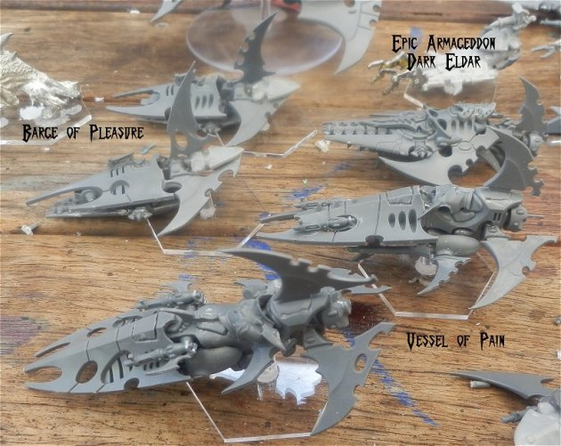 Dark Eldar - Epic Armageddon War Engines