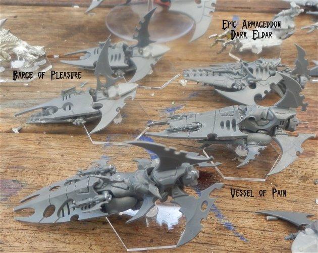 Dark Eldar - Epic Armageddon War Engines