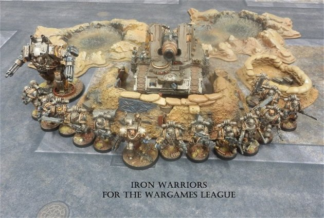 750pts Iron Warriors 1