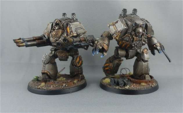 Iron Warrior Contemptor Dreadnoughts 1