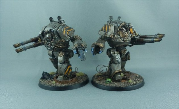 Iron Warrior Contemptor Dreadnoughts 8