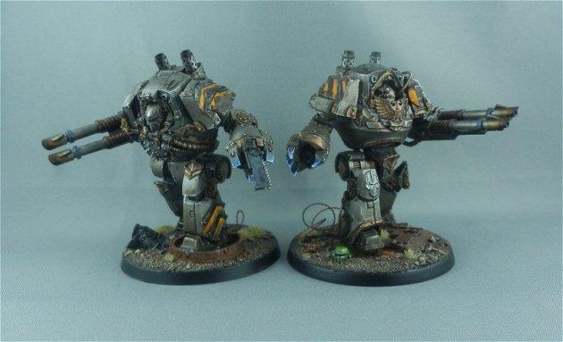 Iron Warrior Contemptor Dreadnoughts 8