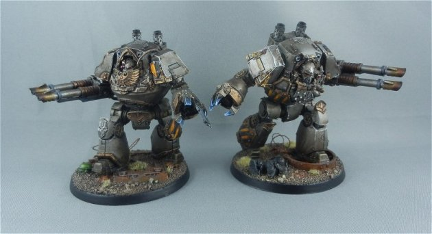 Iron Warrior Contemptor Dreadnoughts 9