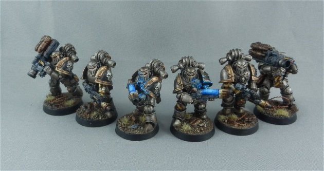 Iron Warrior specialists