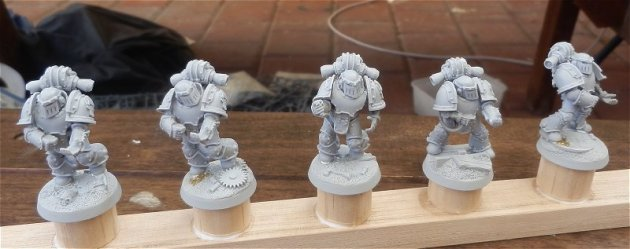Iron Warrior Tactical Marines WIP 1