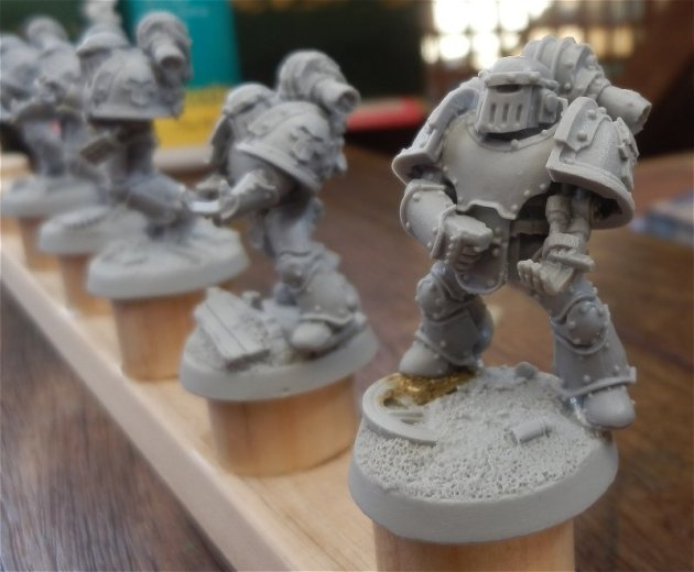 Iron Warrior Tactical Marines WIP 3