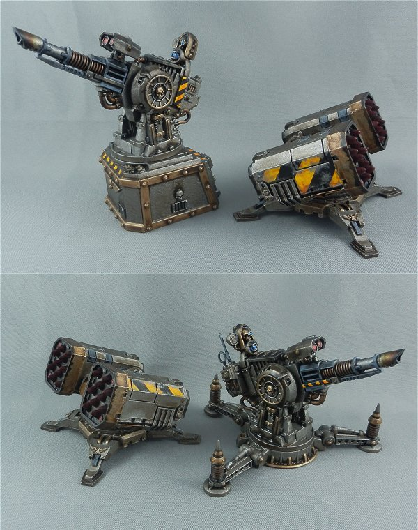 Iron Warriors Anti Air units
