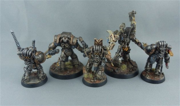 Iron Warriors Command Characters 2