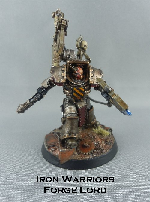 Iron Warriors Forge Lord 1