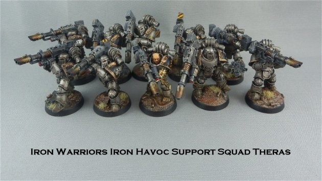 Iron Warriors Iron Havoc Squad Theras