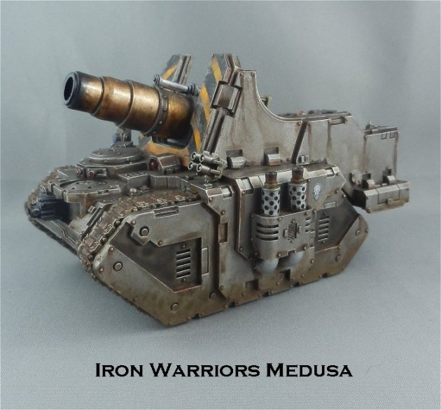 Iron Warriors Medusa 1