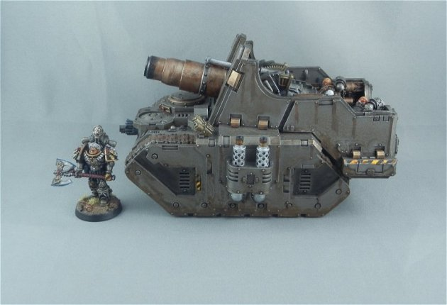 Iron Warriors Medusa 6
