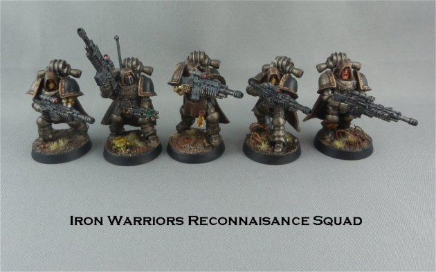 Iron Warriors recon squad