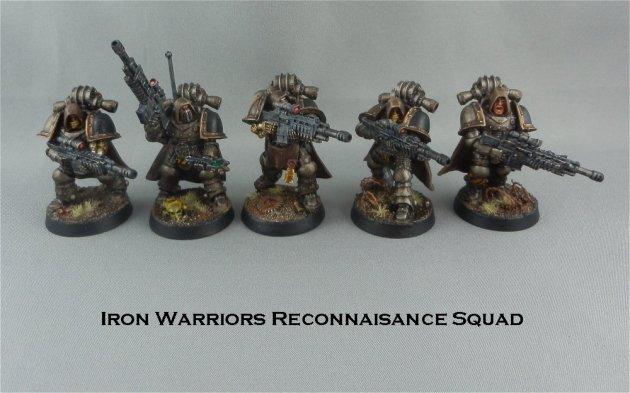 Iron Warriors recon squad