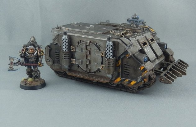 Iron Warriors Rhino 1