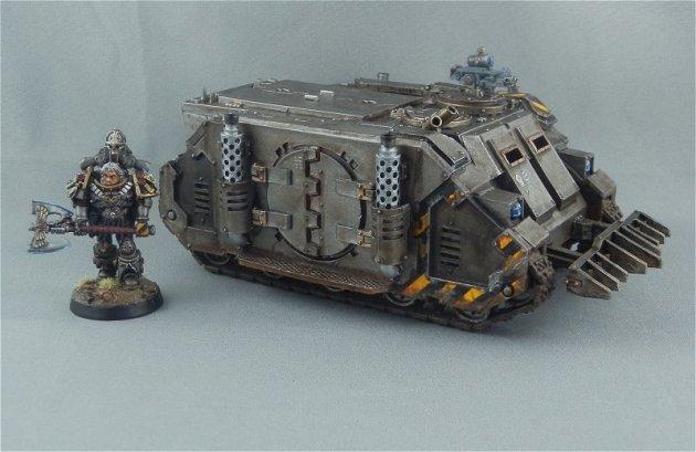 Iron Warriors Rhino 1