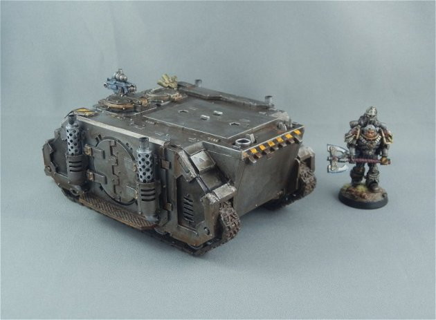 Iron Warriors Rhino 3