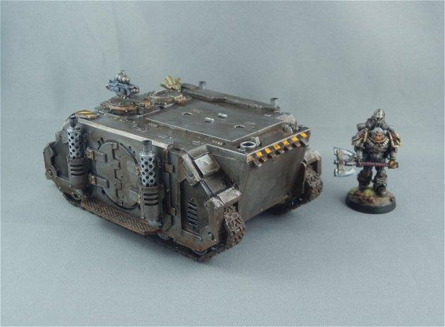 Iron Warriors Rhino 3