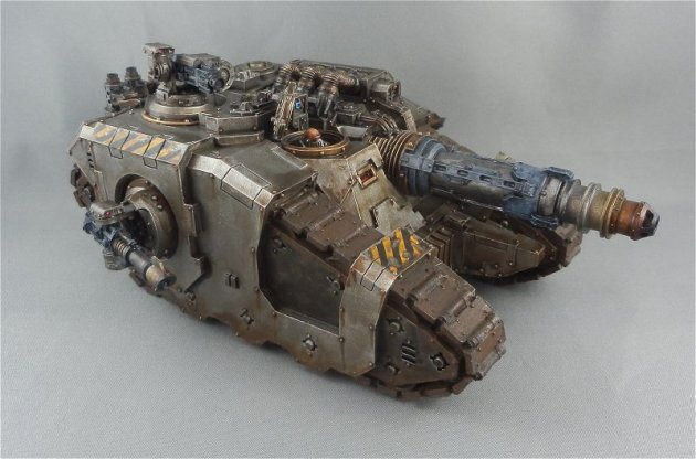 Iron Warriors Sicaran Venator 2