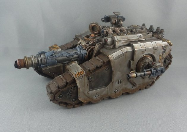 Iron Warriors Sicaran Venator 3
