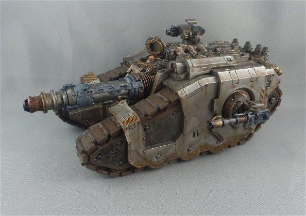 Iron Warriors Sicaran Venator 3