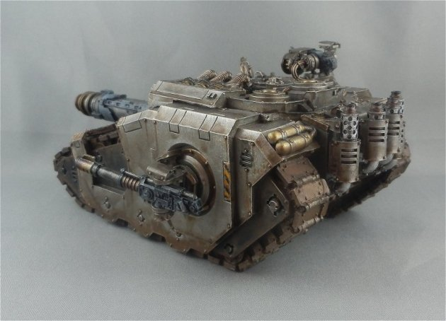 Iron Warriors Sicaran Venator 4