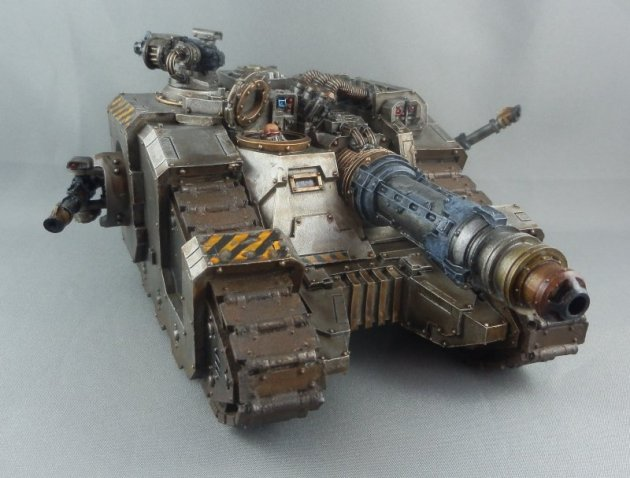 Iron Warriors Sicaran Venator 5