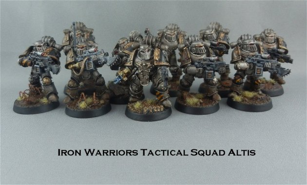 Iron Warriors Tactical Squad Altis