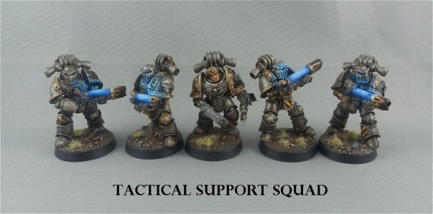 Iron Warriors Tactical Support Squad