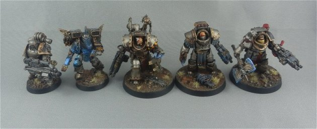 Iron Warriors units