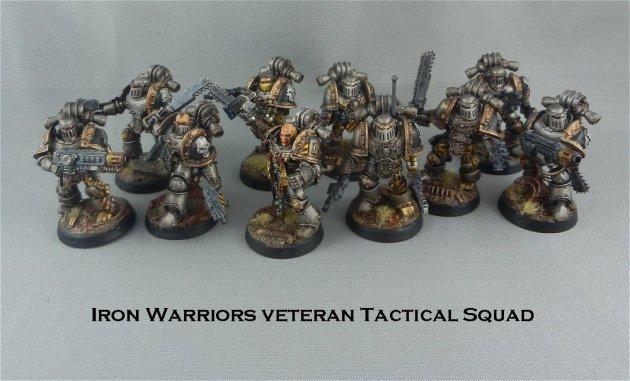 Iron Warriors Veteran Tactical Squad 1