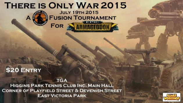 There is Only War 2015 Poster